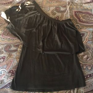 One Shoulder Anthropologie Top - Small